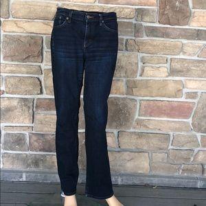 Lauren Ralph Lauren Dark Classic Straight Jeans